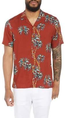 The Kooples Regular Fit Hawaiian Shirt