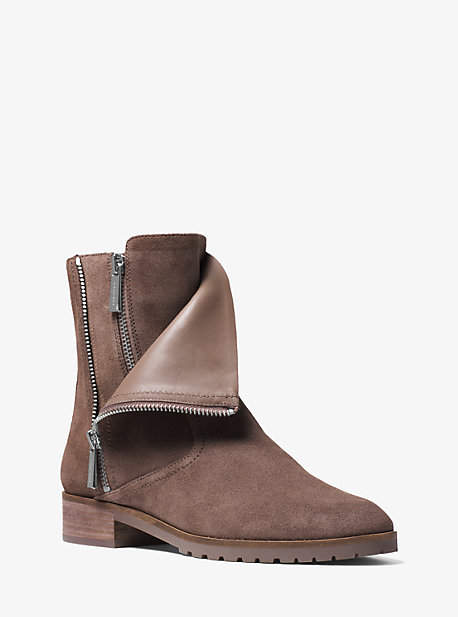 Michael Kors Andi Suede Ankle Boot