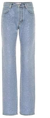 Acne Studios Tisi sequin-embellished jeans