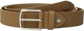 Lacoste Mens Chantaco Leather Belt One