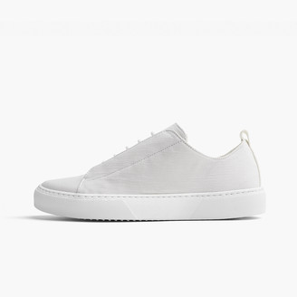 James Perse SOLSTICE CONCEALED COTTON LACE-UP SNEAKER - WOMENS