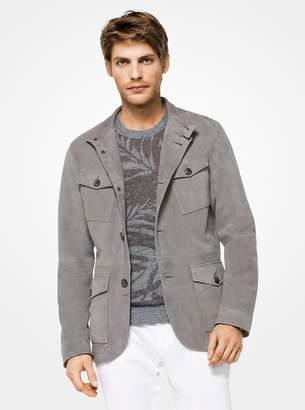 Michael Kors Suede Field Jacket