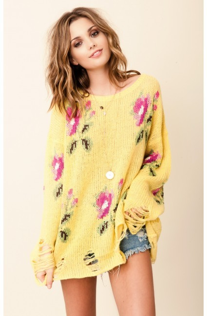 Wildfox Couture Lennon Sweater Little Edie