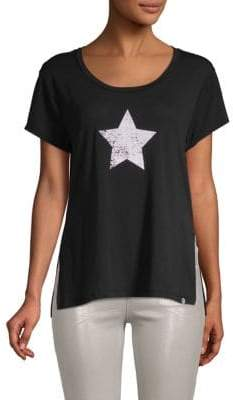 Gottex Star Short-Sleeve Tunic Tee