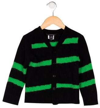 Little Marc Jacobs Girls' Wool-Blend Knit Cardigan