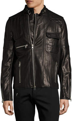 Diesel Black Gold Lunt Leather Jacket