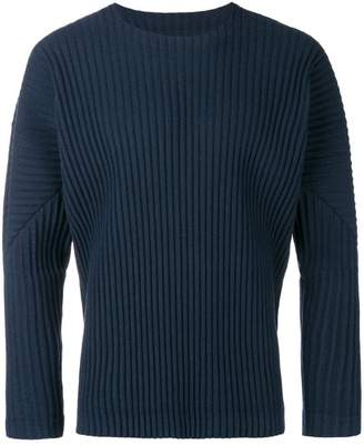 Issey Miyake Homme Plissé pleated sweater