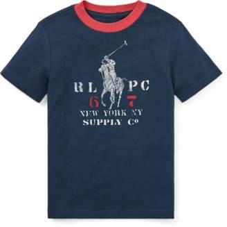 Ralph Lauren Cotton Jersey Ringer T-Shirt