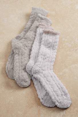 Soft Surroundings Cozy Cable Socks