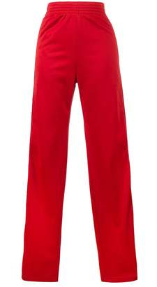Givenchy Red logo stripe track pants