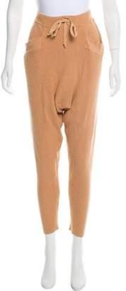 Baja East Knit Harem Skinny Pants