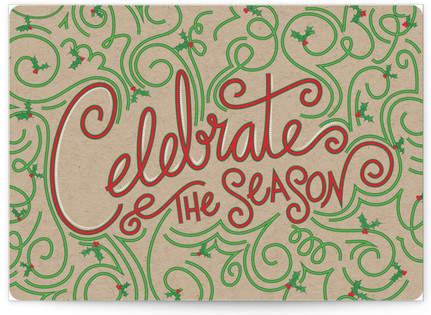 Celebration Curve Self-Launch Cards