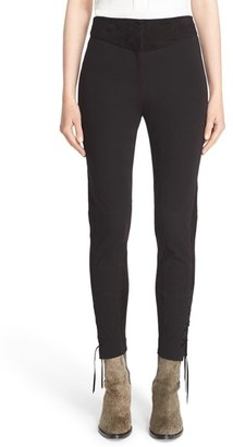Women's Belstaff 'Booth' Stretch Cotton Skinny Pants $495 thestylecure.com