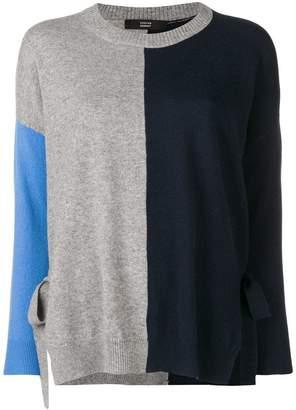 Steffen Schraut knit panelled jumper