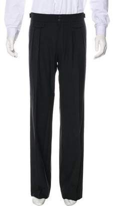 John Varvatos Flat Front Wool Pants