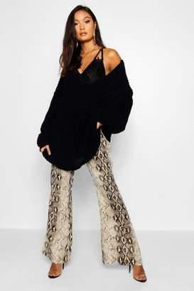 boohoo Oversized Chenille Boyfriend Sweater
