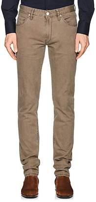 PT05 Men's Stretch-Cotton Canvas Slim 5-Pocket Jeans