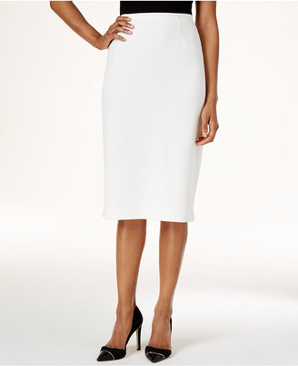 Calvin Klein Below-Knee Pencil Skirt $89 thestylecure.com