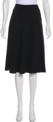 TSE Knee-Length A-Line Skirt