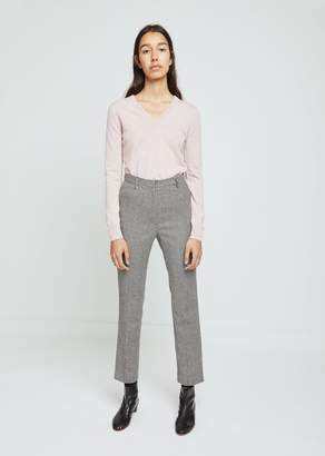 Hache Houndstooth Straight Leg Pants