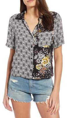 HIATUS Mix Print Blouse