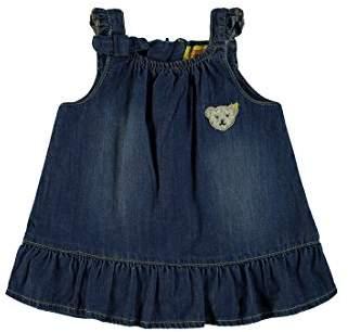 Steiff Girl's Kleid o. Arm Jeans 6832018 Dress,12-18 Months