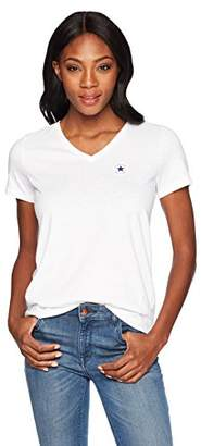Converse Chuck Patch Short Sleeve V Neck T-Shirt