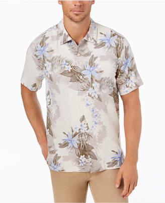 Tommy Bahama Men's Shadow O' Lei Silk Camp Shirt