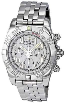 Breitling Chronomat B01 Antarctica White Chronograph Men's Watch AB011011-A690SS