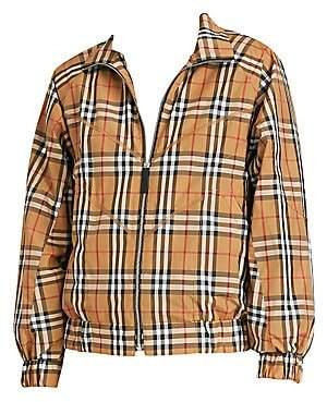 Burberry Women's Corfe Classic Check Tracksuit Jacket