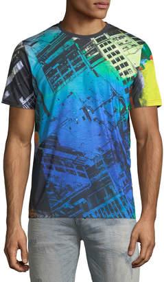 PRPS Men's Graphic Crewneck T-Shirt