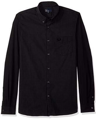 Fred Perry Men's Tonal Gingham Shirt