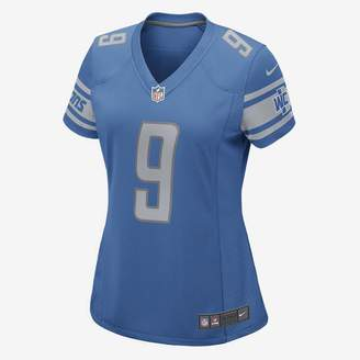 Nike NFL Detroit Lions Game Jersey (Matthew Stafford) Women's Football Jersey