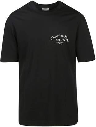 Christian Dior Logo Print T-shirt
