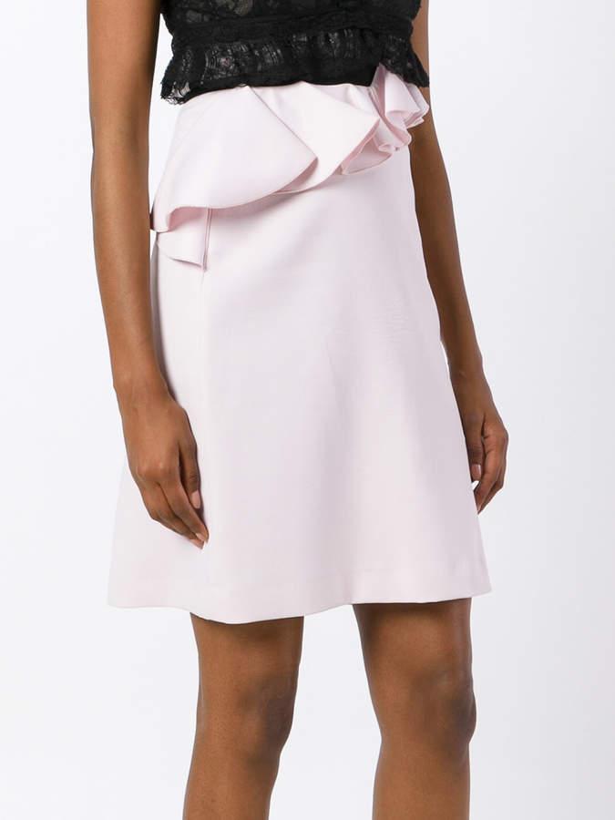 Giambattista Valli asymmetric peplum skirt