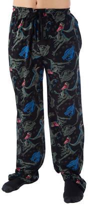 Novelty Licensed Jurassic World Mens Jersey Pajama Pants