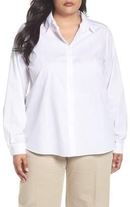 Marina Rinaldi Persona by Button Front Shirt