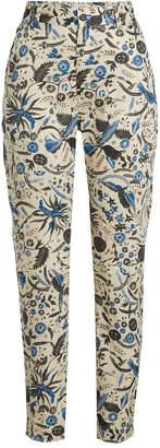 Isabel Marant toile Cameron Printed Cotton Pants
