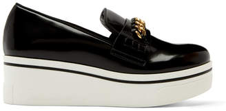 Stella McCartney Black Binx Chain Platform Sneakers