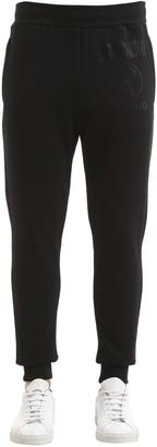 Moschino Logo Detail Cotton Sweatpants