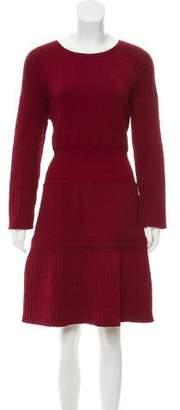 Chanel Long Sleeve Knee-Length Dress w/ Tags