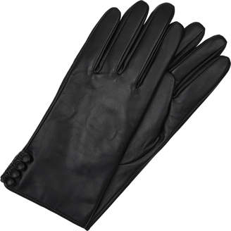 Accessorize Long Leather Gloves