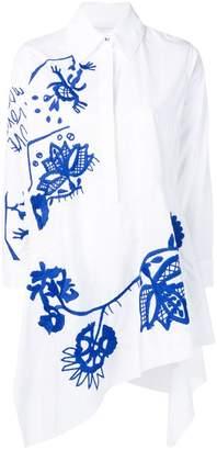 Marques Almeida Marques'almeida embroidered shirt dress