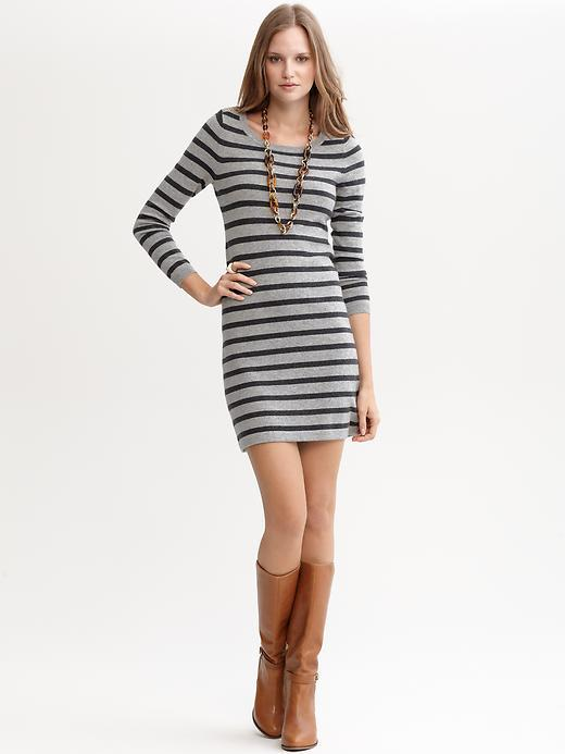 Banana Republic Striped sweater dress
