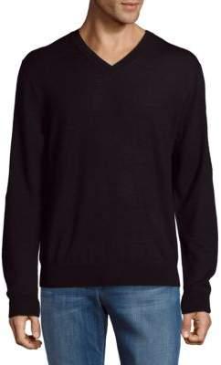 Saks Fifth Avenue V-Neck Wool Sweater