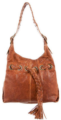 Kooba Braided Drawstring Bag $125 thestylecure.com