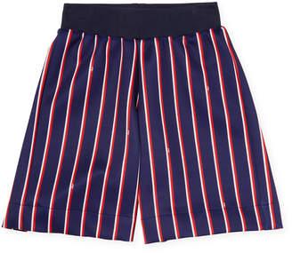 Fendi Striped Knit Short