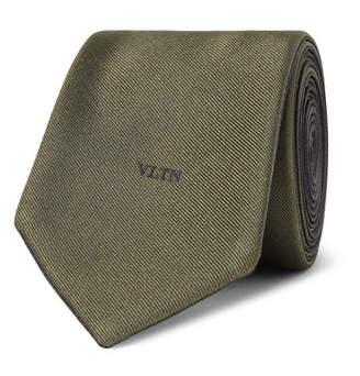 Valentino 6cm Silk-Twill Tie