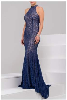 Jovani High Neck Gown