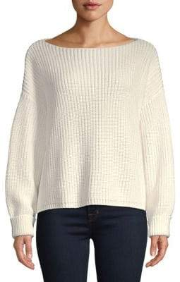 French Connection Millie Mozart Boatneck Sweatshirt